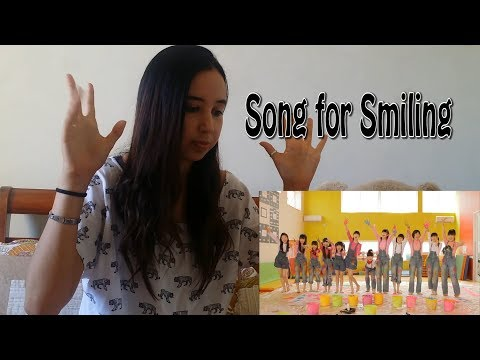 Sakura Gakuin - Song for Smiling MV _ REACTION