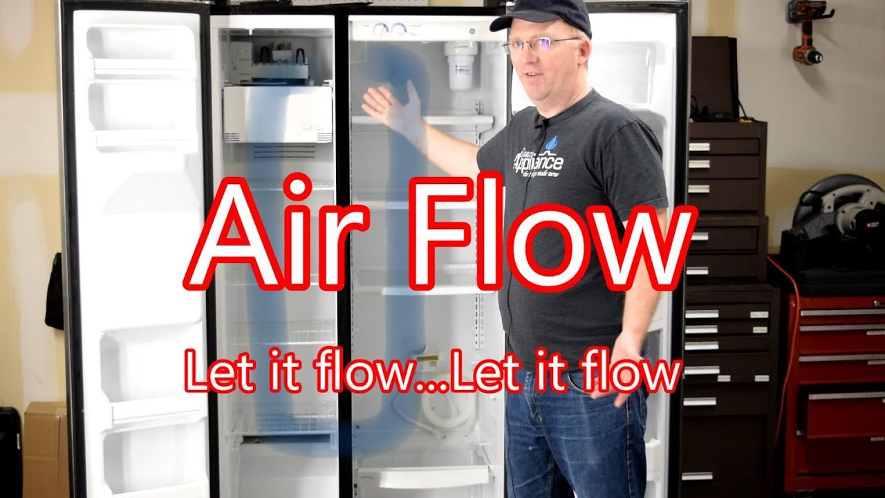 Refrigerator Air Flow - Let it flow...Let it flow on
