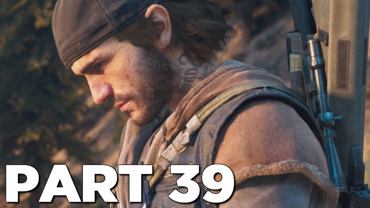 DAYS GONE Walkthrough Gameplay Part 39 - DARKNESS (PS4 Pro)