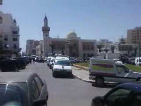 Panorama Sur La Ville De Sfax Tunisie
