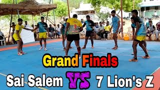 Grand Finals | Sai Salem VS 7 Lion's Z | Arachalur State level kabaddi tournaments 2019 | VINO MEDIA