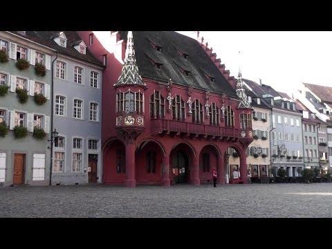 Die Altstadt von Freiburg im Breisgau