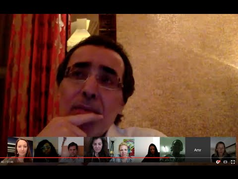 Google Hangout with Amr Al-Dabbagh, Philanthropy U
