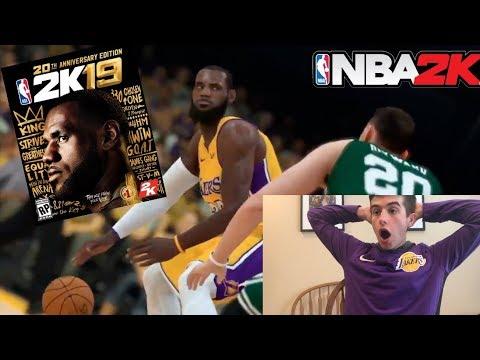 NBA 2K19 OFFICIAL TRAILER!! GAMEPLAY!! REACTION
