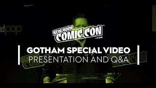 NYCC 2018: Gotham Special Video Presentation and Q&A