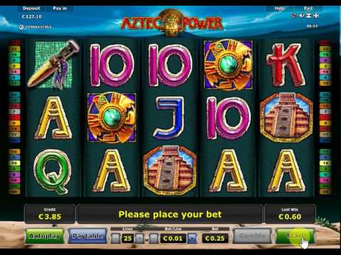 Aztec Power slot min bet x10