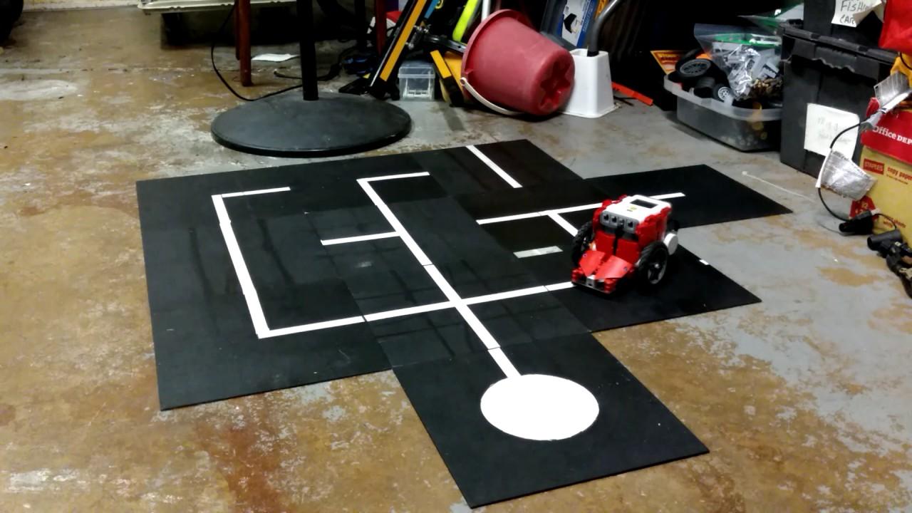 LEGO Mindstorms NXT Maze Solver - YouTube