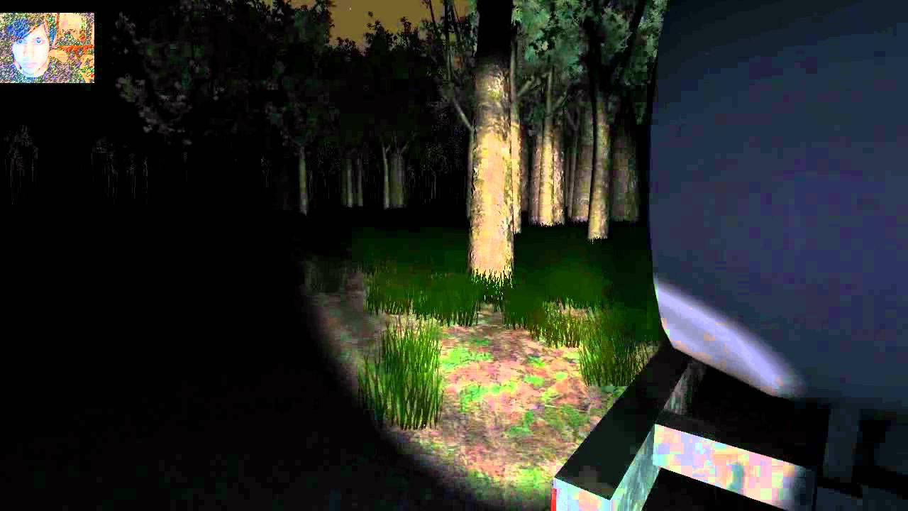Slender (known as Slender: The Eight Pages as of v0.9.7) is an independently-developed concept game based on the Slender Man mythos. The game centers around an unknown character being chased by the Slender Man in the woods while seeking eight pages scattered about various landmarks.