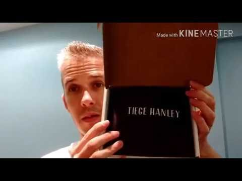 Tiege Hanley mens skincare!! Unboxing and initial thoughts. (Alpha M. company)