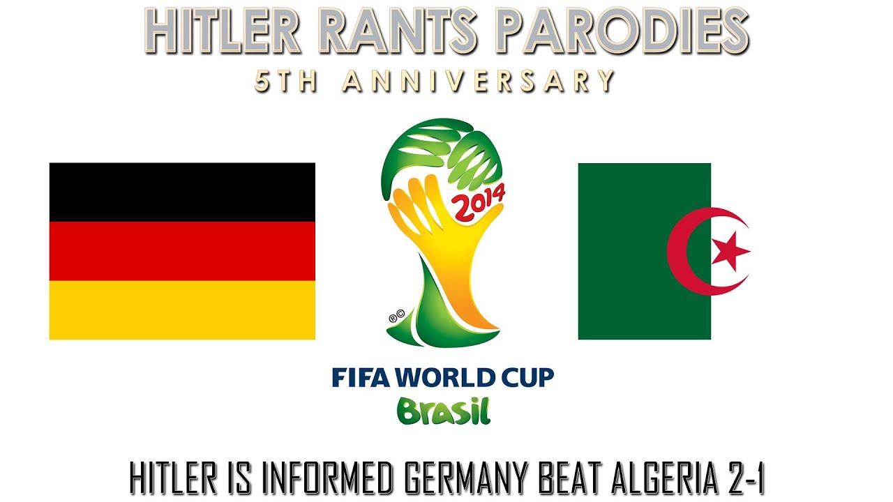 Hitler is informed Germany beat Algeria 2-1