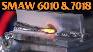 STICK WELDING for Beginners | SMAW 6010 & 7018