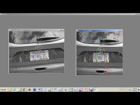 Vehicle License Plate detectionusing SIFT Algorithm