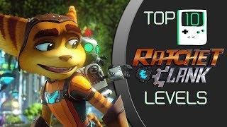 My Top 10 Ratchet & Clank Levels