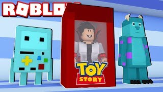 I TURNED a TOY of the toy STORY into the Roblox Toy Simulator