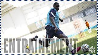 Dans les coulisses de l entraînement Equipe de France I FFF 2021
