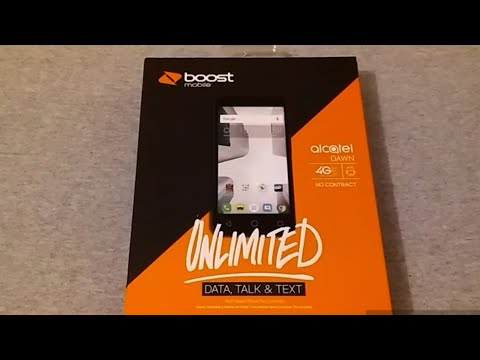Alcatel Dawn Unboxing {Boost Mobile}