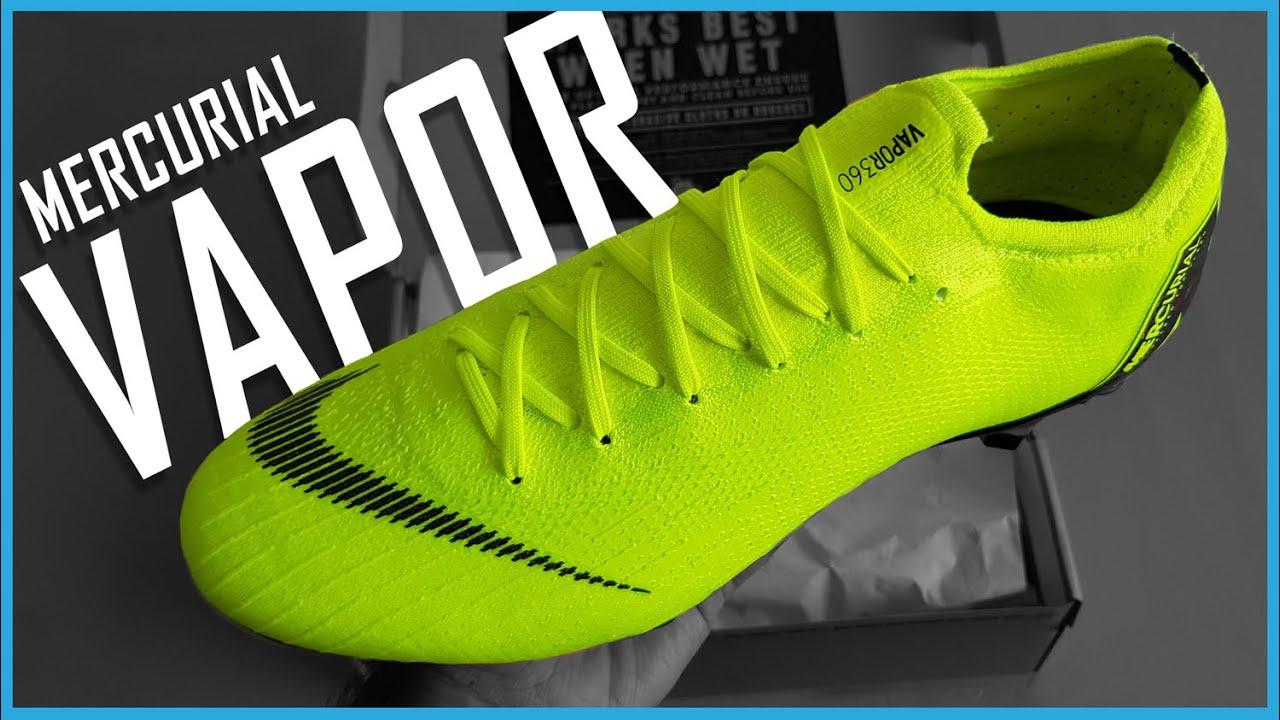 detailed pictures 7d3d0 428ca Nike Mercurial Vapor 360 Elite Unboxing - Nike Vapor 360 SG Pro Volt  Football Boots Unboxing