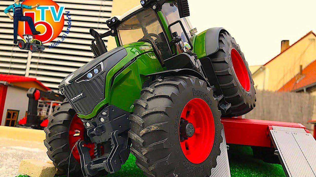 bruder tractor new rc fendt vario 1050 youtube. Black Bedroom Furniture Sets. Home Design Ideas