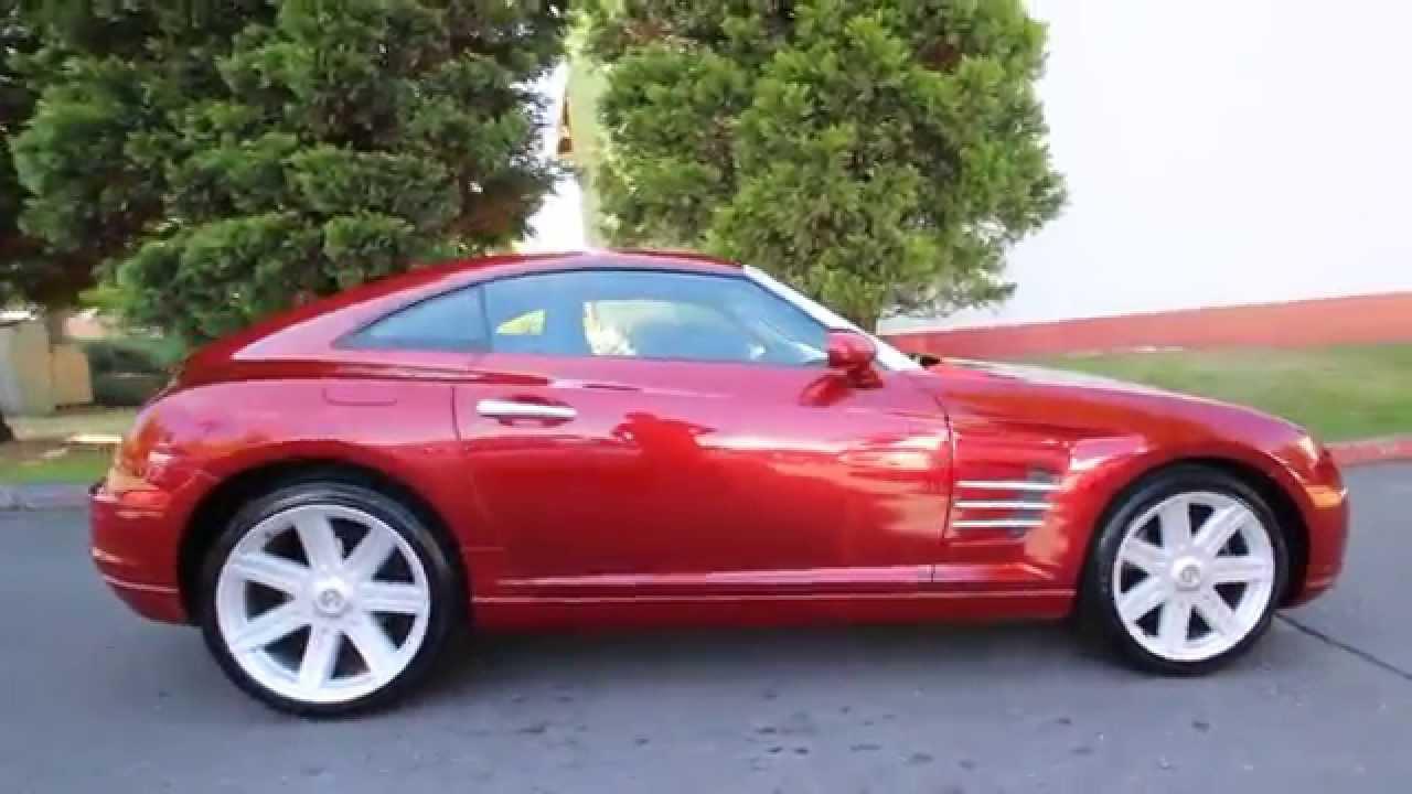 2004 Chrysler Crossfire Base Blaze Red Crystal