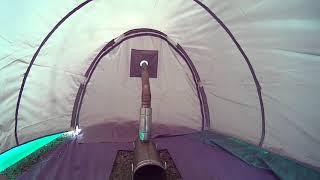 Летняя печка для палатки БД-2 из трубы дымохода