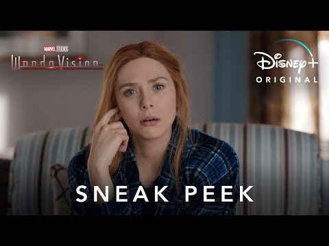 Sneak Peek | Marvel Studios' WandaVision | Disney+