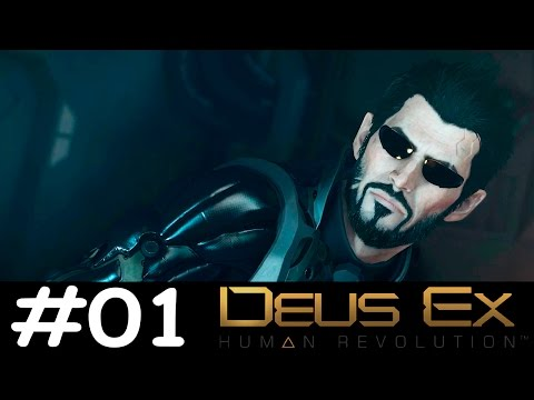 Let's Play Deus Ex: Mankind Divided #01 | Welcome To The Divided World