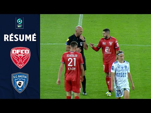 Dijon CA Bastia Goals And Highlights