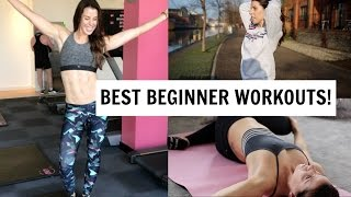 BEST BEGINNER EXERCISE ROUTINES | AD WARDROBE!