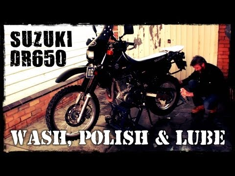 DR650 - Wash, Polish & Lube