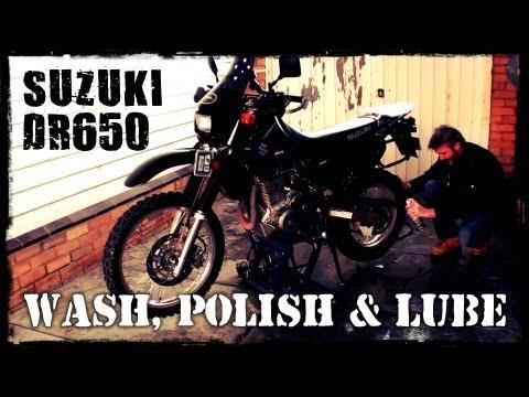 DR650 - Wash, Polish & Lube