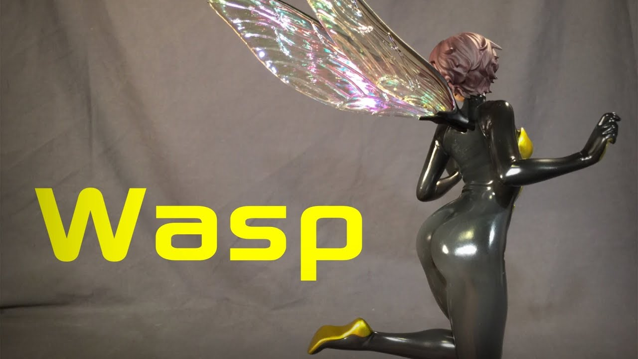 07b0b833fe9 Marvel Bishoujo Wasp Review - YouTube