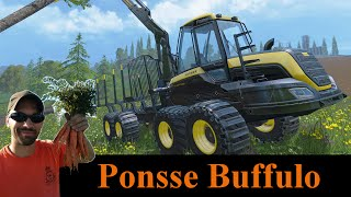 Farming Simulator 2015 How the Ponsse Buffalo works