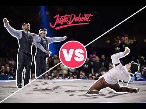 Juste Debout Popping Final 2018: Ness & Poppin C vs. Greente
