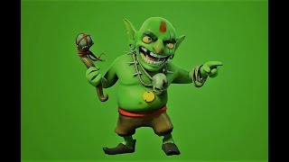 Zeit für Teamwork Kobolde Einzelspieler clash of Clans Teamwork Opportunity Goblin Single Player