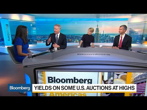 Rajappa, Katzive on U.S. Treasury Auctions, Currencies