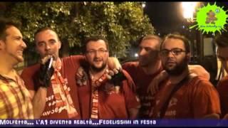 2013-05-03: I saluti dei fedelissimi di Molfetta dopo la promozione in A1
