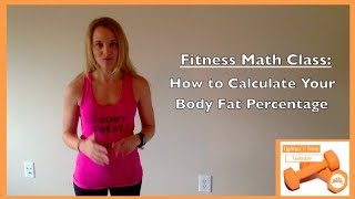 How to Calculate Body Fat Percentage