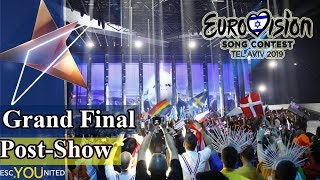 Eurovision 2019: Grand Final Post-Show WINNER DISCUSSION