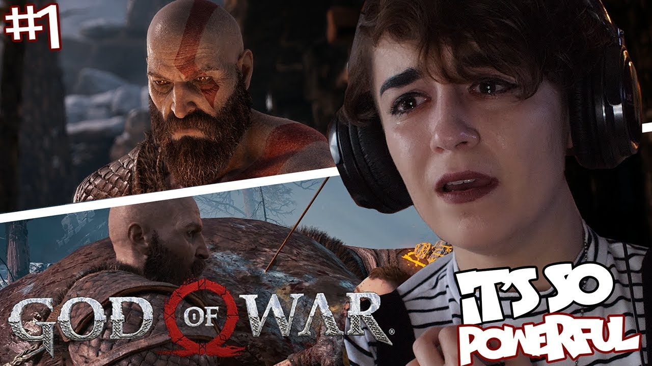 God of War (Part 1) DADDY KRATOS AND TOUGH LOVE!