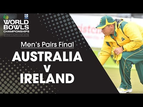 Men's Pairs Final | Australia v Ireland