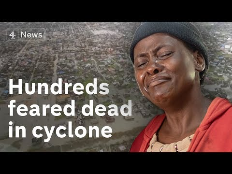 Cyclone winds and flooding cause disaster in southern Africa
