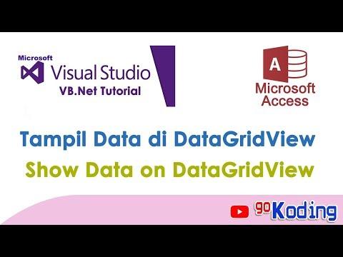 """TUTORIAL VB.NET : """"Menampilkan Data Dari Database di VB.Net Datagridview"""""""