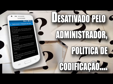 Desativado pelo administrador, política...(COMO RESOLVER)