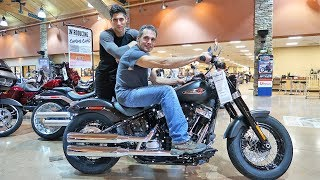 Taking My Dad Motorcycle Shopping!
