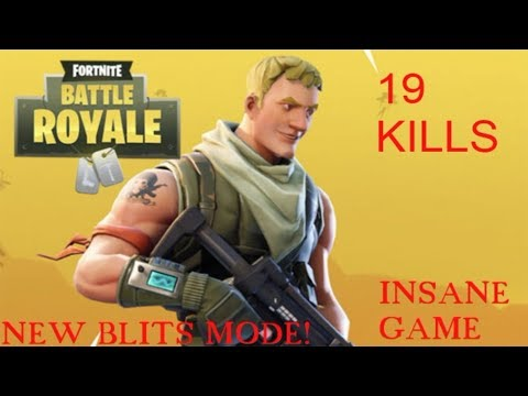 Insane Blitz Game!(Fortnite Battle Royale)