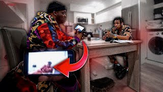 I Threaten To Expose What I Found In DDGs Phone Prank !! * Crazy Reaction *