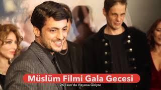 '' MÜSLÜM ''  FİLMİ GALA GECESİ ÖZEL RÖPORTAJLAR  / Abone Olursanız Seviniriz.
