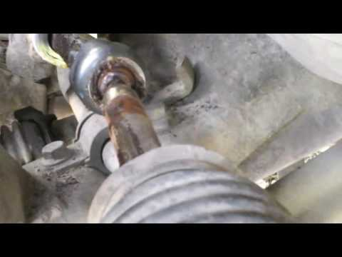 Замена рулевых тяг на альмере класссик