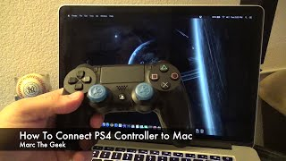 How To Connect PS4 Dualshock 4 Controller to Mac