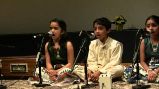 Alankar School of Indian Classical Music - Jun 15th 2013 Concert - Tum Hum Sang - Raag Bhupali